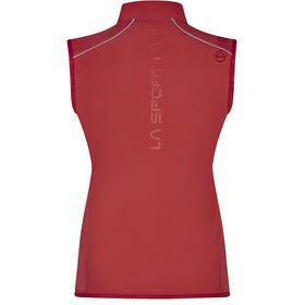 La Sportiva Aria Chaleco Mujer, rojo